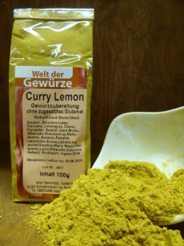 Curry - Lemon